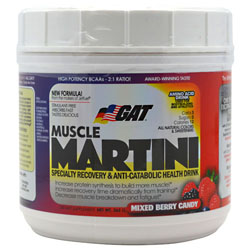 GAT Muscle Martini - Mixed Berry Candy - 365 g