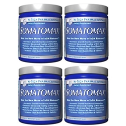 4-pack of Somatomax Berry Banana by Hi-Tech Pharmaceuticals